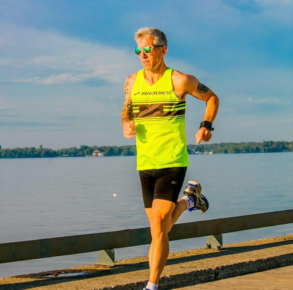 Jean-Paul Bedard is aiming to complete four marathons in 24 hours.