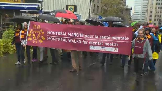Mental health march