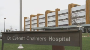 Paul Lynch worked for 12 years at the Doctor Everett Chalmers Hospital in Fredericton, N.B.