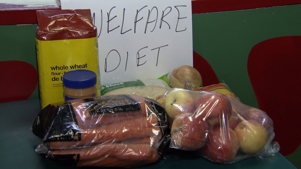 $18 per week is not a lot for groceries. (CTV)
