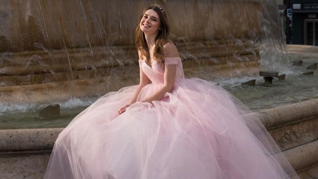 Pink dress by David Purves. (David Bacher)
