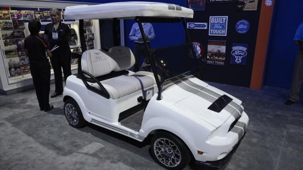 Ford golf cart