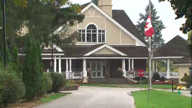 The Lambton Golf and Country Club, located near Dundas Street West and Scarlett Road in Toronto, is shown in this undated photo.