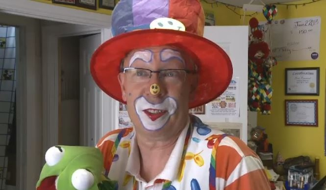 Dale Rancourt, also known as Klutzy the Clown, is facing two counts of sexual interference, one count of sexual exploitation and one count of sexual assault.