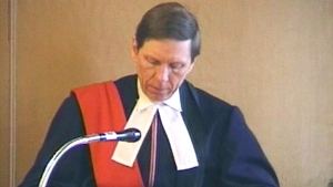 CTV National News: First N.L. judge on the bench
