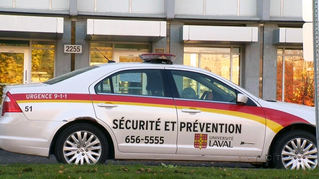 Security has been increased at Laval University