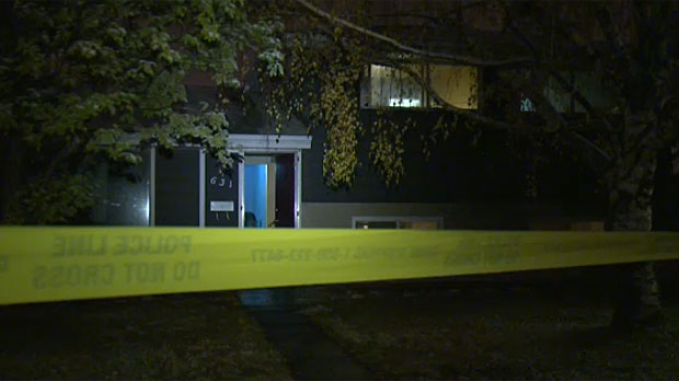 Two people were injured in a home invasion in the Mayland Heights area.
