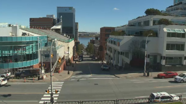 Police have charged a business in downtown Halifax for failing to follow regulations in the Health Protection Act.