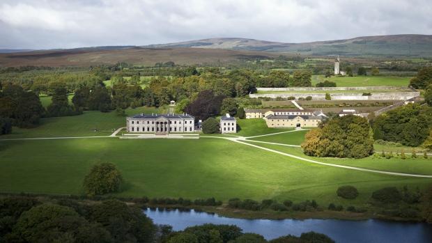 Ballyfin Demesne hotel in Ireland