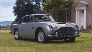This 1964 Aston Martin DB5 was bought using Apple Pay. (Coys Ltd)