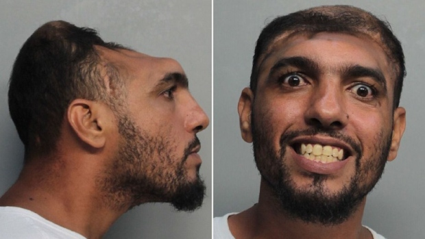Half-headed mugshot