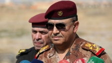 Army Lt. Gen. Talib Shaghati in Khazer