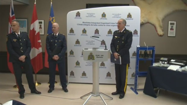 RCMP held a news conference Wednesday on the seven-month-long investigation into the alleged drug trafficking network.