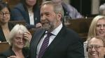 Mulcair bashes electoral reform