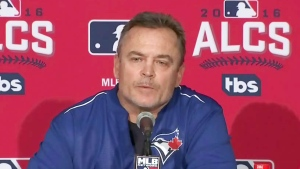 Toronto Blue Jays manager John Gibbons