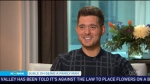 Michael Buble dishes on new album 'Nobody but Me'