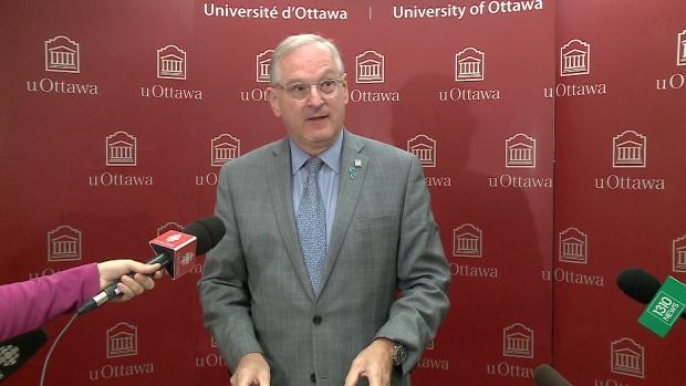 University of Ottawa President Jacques Frémont.