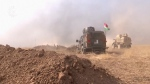 U.S. soldier killed as forces advance on Mosul