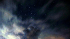 An astronomer observes the Orionids at an observatory near the village of Avren east of the Bulgarian capital Sofia, Tuesday, Oct. 20, 2009. (AP Photo/Petar Petrov)