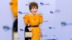 Betsy Bloomingdale arrives at the Los Angeles Philharmonic Opening Night Gala in Los Angeles on Sept. 27, 2011. (Chris Pizzello/AP)