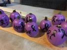Purple pumpkins are helping raise awareness about the Epilepsy Support Centre. (Courtesy Janelle Martineau)
