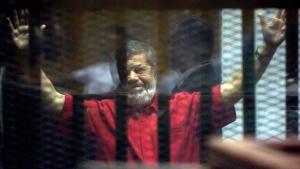 Former Egyptian President Mohammed Morsi has had his 20-year jail sentence upheld by an Egyptian court. (AP Photo/Amr Nabil)