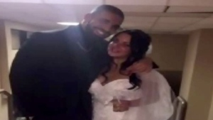 Drake shows up at Windsor wedding