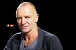 In this Sept. 26, 2013, file photo, Sting poses for a portrait at The Public Theater in New York. (Photo by Dan Hallman/Invision/AP, File)