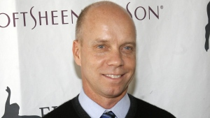 Scott Hamilton at Central Park's Wollman Rink in New York, on April 9, 2007. (Jason DeCrow / AP)