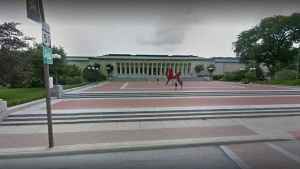 Ohio's Toledo Museum of Art is seen in this 2014 image from Google Street View.  (Google)