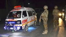 Police training centre attack in Quetta, Pakistan