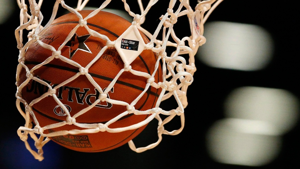 NBA basketball net