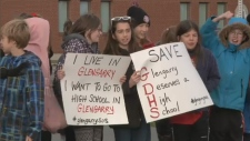 Glengarry District High School walk-out