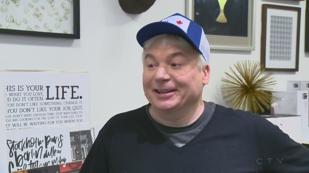 Mike Myers is in Montreal to promote his book, Canada