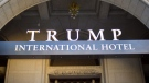 This Monday, Sept. 12, 2016, file photo, shows the exterior of the Trump International Hotel in downtown Washington. (AP / Pablo Martinez Monsivais, File)
