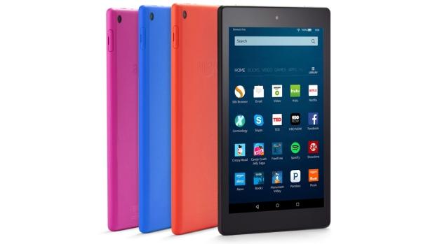 Amazon Fire HD 8 tablets