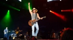 Kenny Chesney, shown performing in this April 3, 2016 file photo, will receive the Pinnacle Award during the 50th annual Country Music Association Awards, joining Garth Brooks and Taylor Swift as the only recipients. (File/THE ASSOCIATED PRESS)