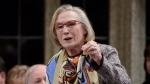 Indigenous Affairs Minister Carolyn Bennett answers a question during question period in the House of Commons on Parliament Hill in Ottawa on Tuesday, October 25, 2016. (Adrian Wyld/The Canadian Press)
