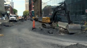 Montreal has been subject to lots of roadwork, but