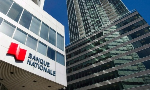 Banque Nationale (National Bank) head office is shown in Montreal, Wednesday, April 15, 2015. THE CANADIAN PRESS/Graham Hughes
