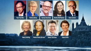 Prime Minister Justin Trudeau has named nine, new, non-partisan senators to the upper chamber.