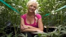 Christine Miller on her marijuana farm