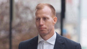 Travis Vader arrives at court in Edmonton in a March 8, 2016, file photo. (Amber Bracken/The Canadian Press)