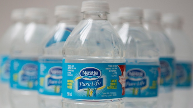 Nestle bottled water
