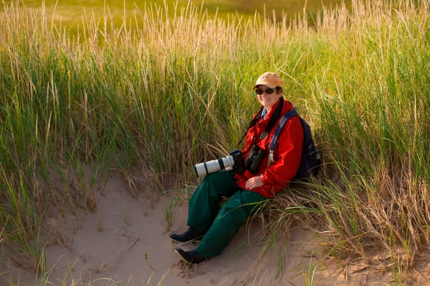 Diane Griffin poses at St. Peter's Lake Run Natural Area in this undated handout photo. (THE CANADIAN PRESS/HO - Nature Conservancy of Canada, John Sylvester)