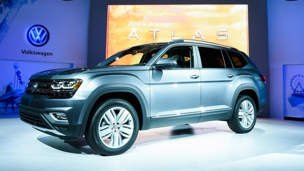 Volkswagen Introduces New American Built 7 Passenger Suv