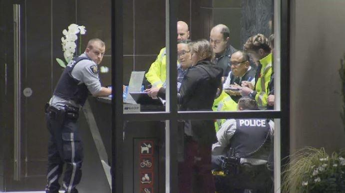 Burnaby high-rise apartment  shooting