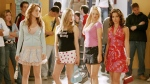 In this 2004 publicity image originally released by Paramount Pictures, from left, Lindsay Lohan, Amanda Seyfried, Rachel McAdams and Lacey Chabert are shown in a scene from 'Mean Girls.' (AP Photo / Paramount Pictures, Michael Gibson)