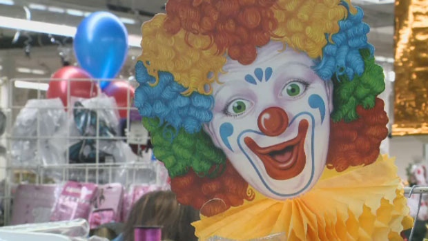 Halloween is usually big business for costume shops where clowns have always been popular, except for this year.