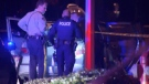 One man was killed and another is in hospital after a shooting in Surrey Friday night. (CTV)